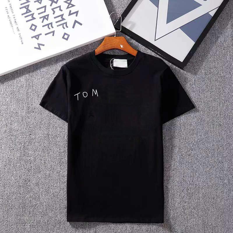 20SS буквы печатных дизайнер футболка для мужчин летом футболки футболки мода женщин экипаж шеи с коротким рукавом одежда азиатский размер S-XXL