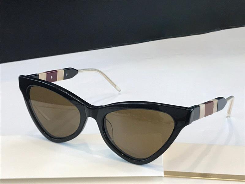 0597 النظارات الشمسية الشعبية للنساء القط العين بلان كامل الإطار أعلى جودة الأزياء adumbral النظارات الشمسية uv حماية عدسة حمللة تأتي مع مربع