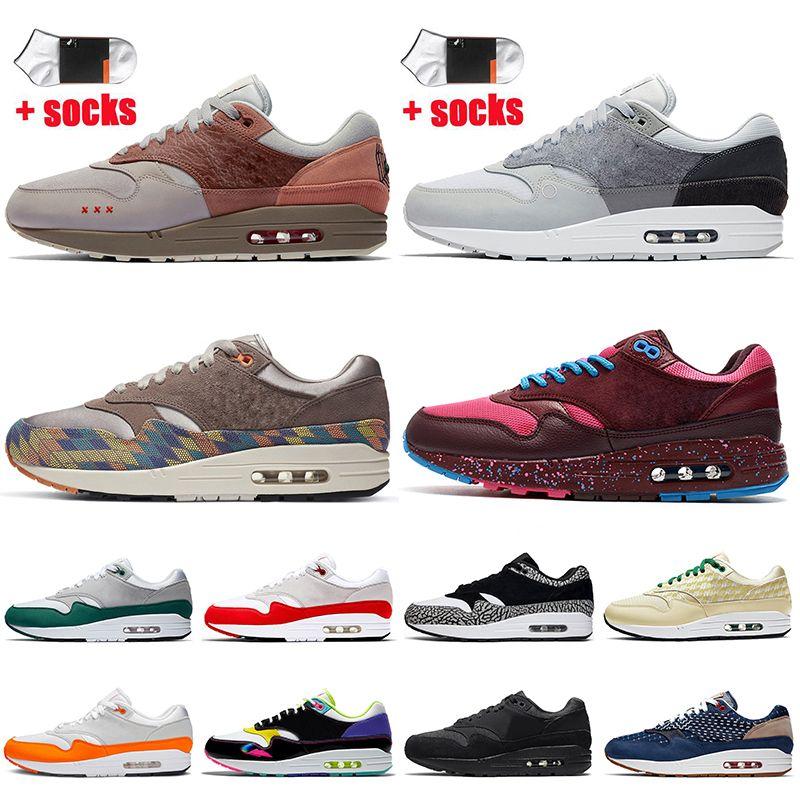 nike ayakkabı nike air max 1 stock x off white 2021 En Kaliteli Parra Amsterdam Londra N7 Kadın Erkek Koşu Ayakkabıları Denham Limonata Dökmeyen Aura Magma Spor Ayakkabıları