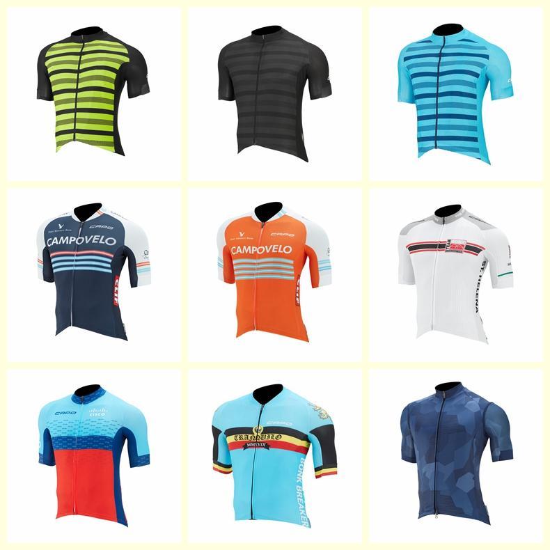 فريق كابو الدراجات قصيرة الأكمام جيرسي قصيرة الأكمام الدراجات جيرسي تنفس mtb دراجة ملابس الرجال روبا ciclismo الدراجات