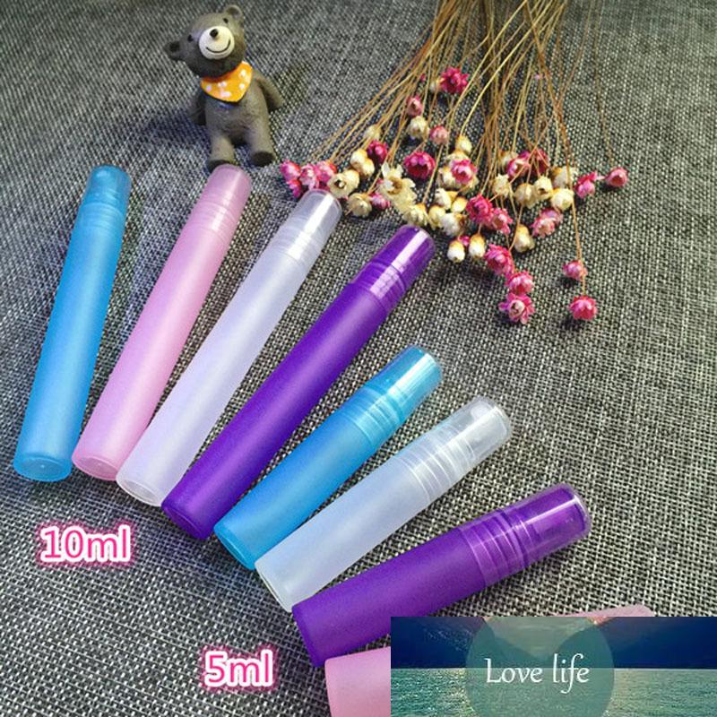 5 шт. 5 мл / 10 мл портативный пустой пластиковый насос спрей с распылением.
