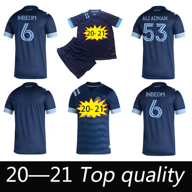 MLS 2020 Высочайшее качество Ванкувер Футбол Джерси Взрослый Детский Комплект 20 21 Монтеро Каваллини Футбол Униформа Уайткапс Рейна Али Аднан Футбольные рубашки
