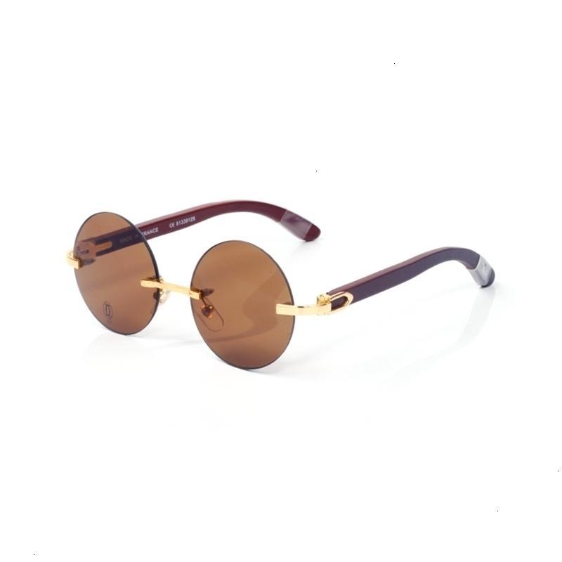 2021 Moda para hombres Gafas de sol rectangulares para damas Sin montar por lentes pequeñas Lentes Classic Alloy Metal Aiiz