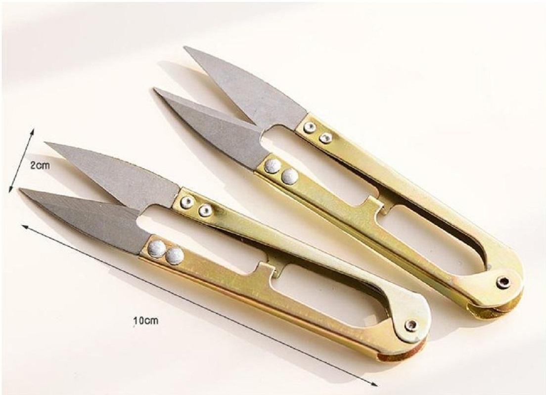 الذهب اللون الحديد مقص أدوات المنزلية مفيد صغير مقص الخياطة الصغيرة التطريز الخياطة عبر الابره الحرفية الحرفية أداة اليد EEF3975