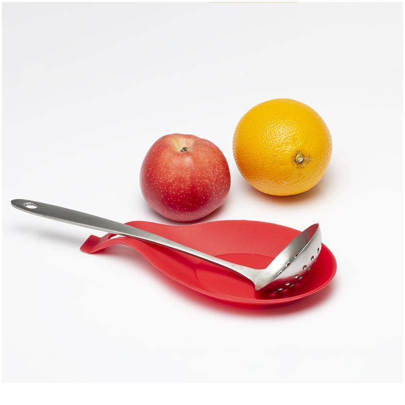 1 stücke Mehrzweck Sile Löffel Ruhel Pad Food Grade Kieselgel Löffel Put Matte Gerät Löffel Pad Kitchen Tool 9.5 BByoef