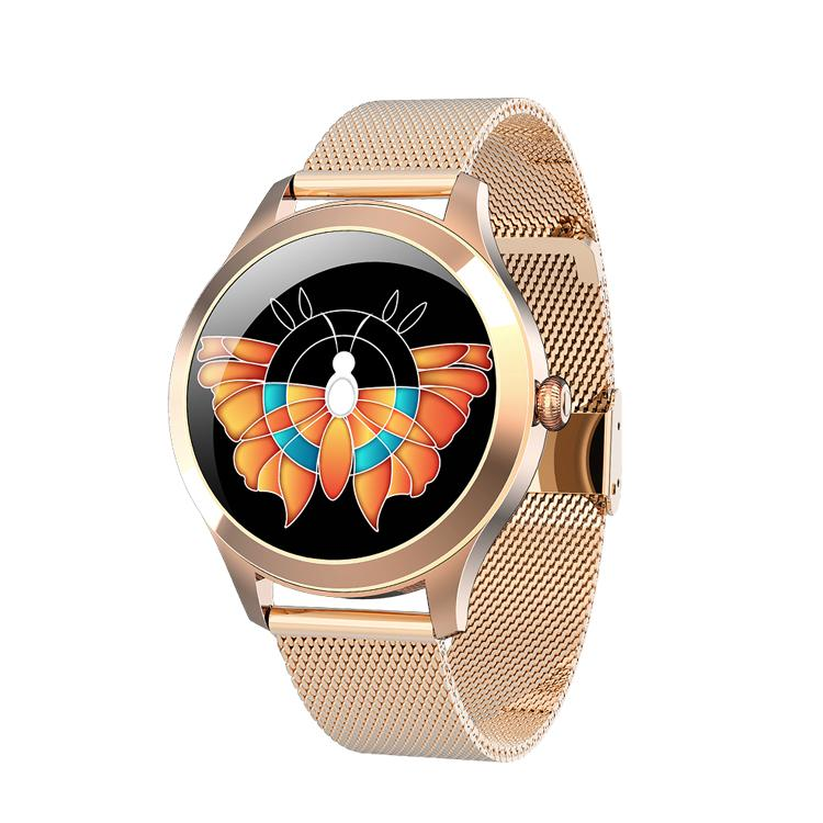 2020 Женщины Smart Watch Full Touch IP68 Водонепроницаемый Монитор сердечных сокращений Монитор Спин Мониторинг Фитнес Браслет PK SmartWatch