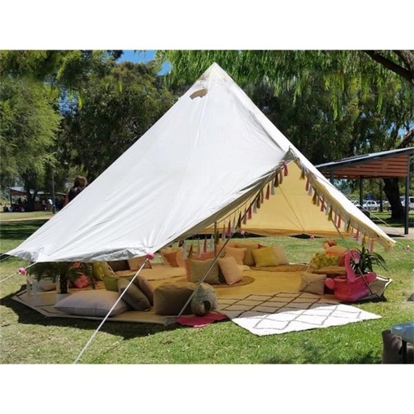 Tendas de acampamento de inverno de lona de algodão Z1123
