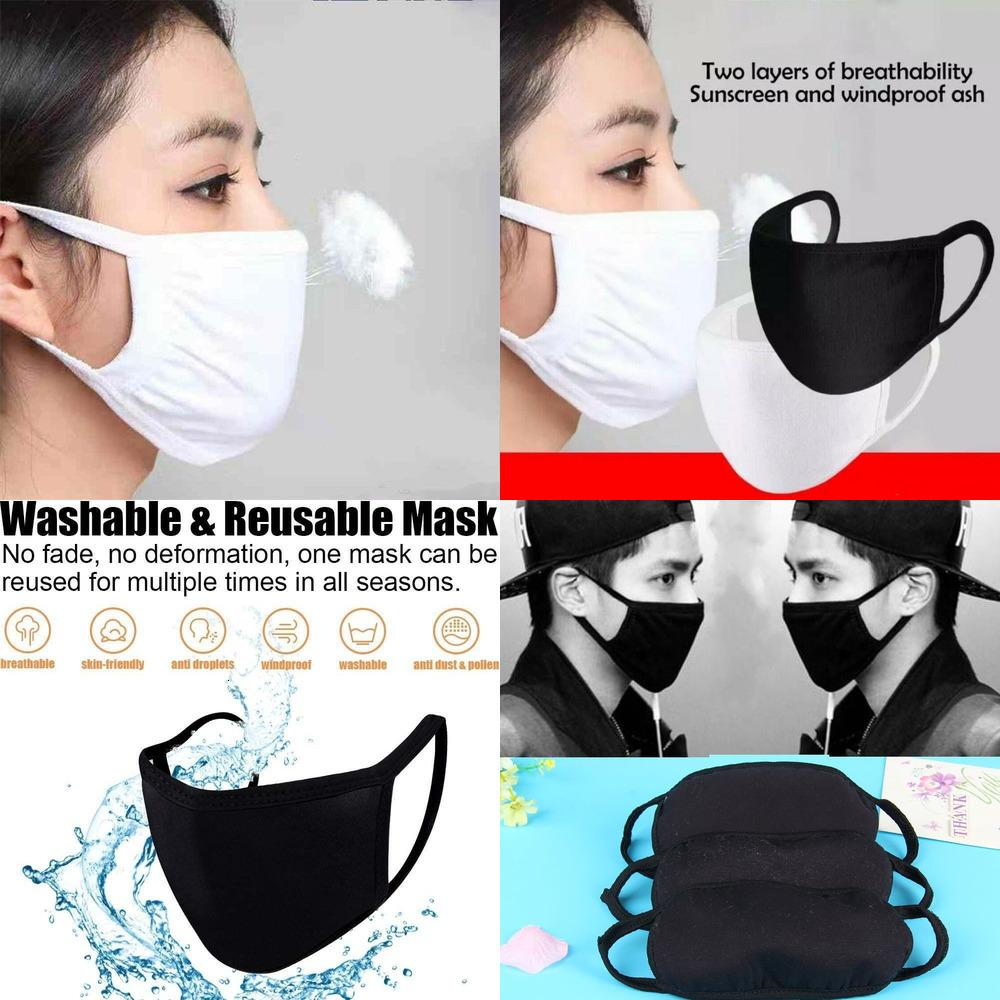 Factory5HRBCotton For 24H Masks Shipping!Anti-Dust Men Women Protective Unisex Anti-Dust Cycling Wearing Breathable Washable Face M