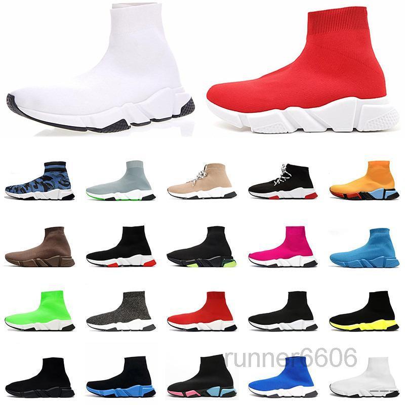 Expédition rapide Chaussures Casual Chaussures Hommes Femmes 2019 Meilleure Qualité Noire Blanc Blanc Rose Sport Sport Sports Designer Sneakers Entraîneurs Taille 40-45 Kk6n
