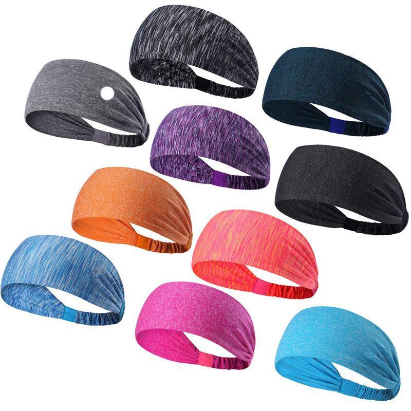Sport-Stirnband unter Schweißdicking dehnbar athletischer Bandana-Headscarf Yoga-Stirnband-Kopf-Wrap Best für Sport-Übung L-018
