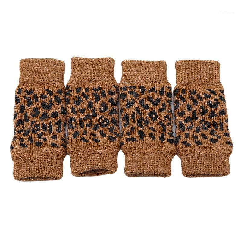 4 teile / set Neue Ankünfte Hund Warme Knieschutz Anti-Skid Pet Bein Warme Pet Supplies Socken Hohe Qualität Cover Gelenkschutz1