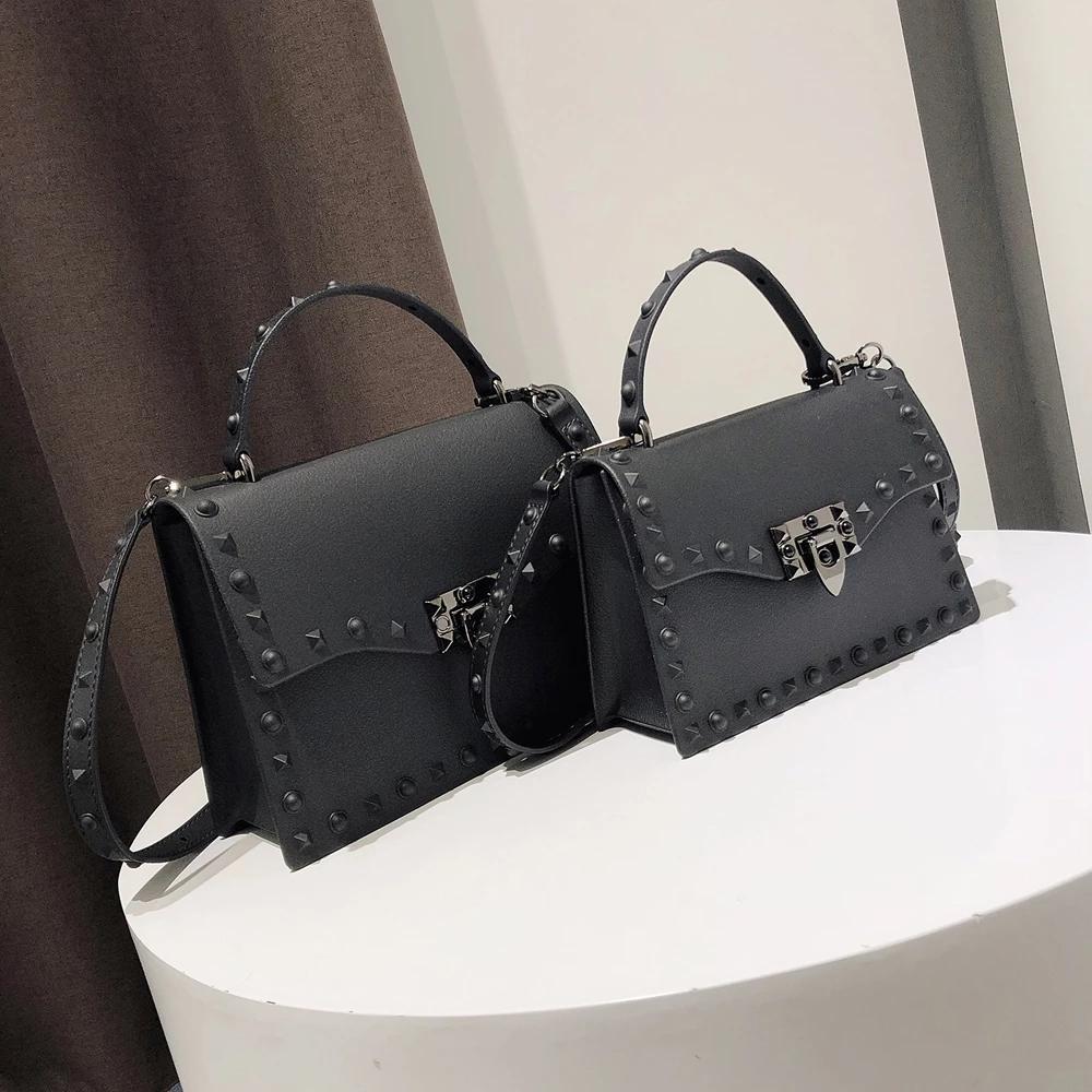 Gelee für solide Klappe Mode Messenger Klinker Umhängetasche Little Big Dame Handtaschen Hohe Qualität Taschen Frauen