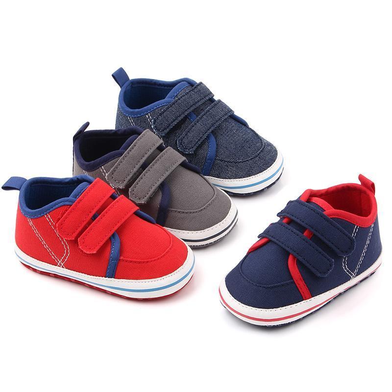Первые ходунки мода детская обувь мальчики девочек кроссовки дышащие спортивные кроватки мягкий ходунок повседневная для 0-12 месяцев22