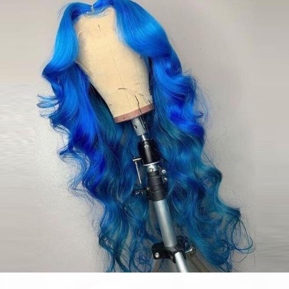 Mstoxic Blue Body Wave Dentelle Avant Perruque De Colombie Blonde Brésilienne Dentelle Front Human Cheveux Perruques Remy 13x1 T Partie Perruque Human Hair Wig 99J