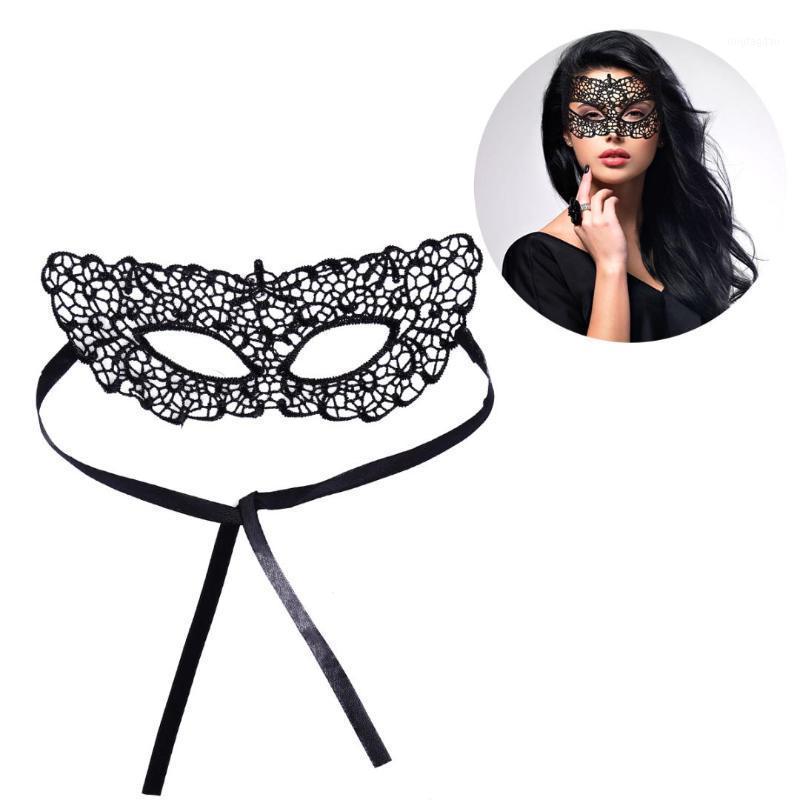 Партийные маски сексуальные изысканные кружевные Eyemask для рождества Хэллоуин маскарад костюм маска (S-012) 1