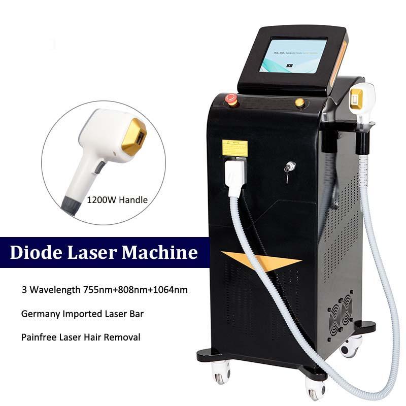 Platin-Eis Alex-Laser-Maschine Alexandrite Permanente Achselhöhlenkörper-Haarentfernung Laserdioden-Maschine CE genehmigt