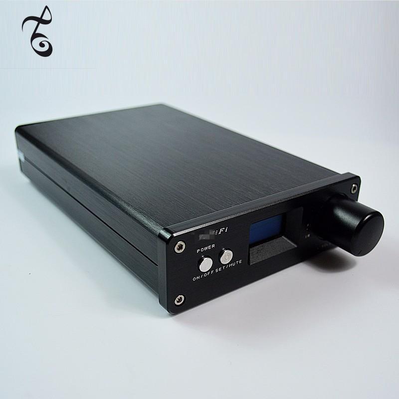 Freeshipping STA326 + PCM2706 + AK4113 OLED 2.0 Sınıf D DC24V-32V Dijital Stereo Ses Amplifikatörü 2x50W USB / Optik / Koaksiyel Giriş 24bit / 192K