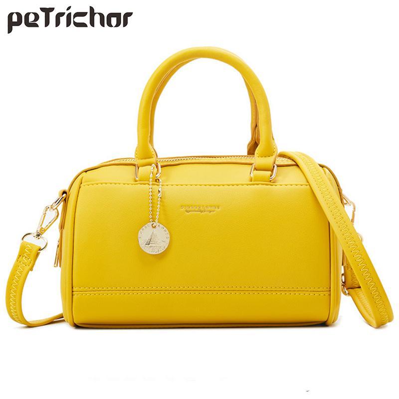 جديد أنيق حقيبة يد المرأة بوسطن كتف حقيبة CROSSBODY مصمم حقائب جلدية عالية الجودة اليد للسيدات حمل Q1118