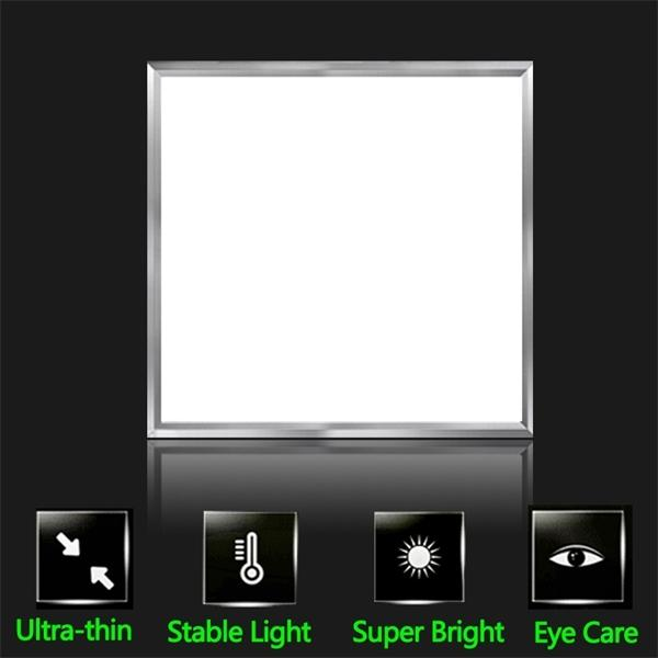 21W LED Panel Licht Einbau Deckenleuchte 220V LED Leuchten Panel Lampen ultradünn 300 * 300 für Innenbeleuchtung Schlafzimmer Wohnkultur q1121