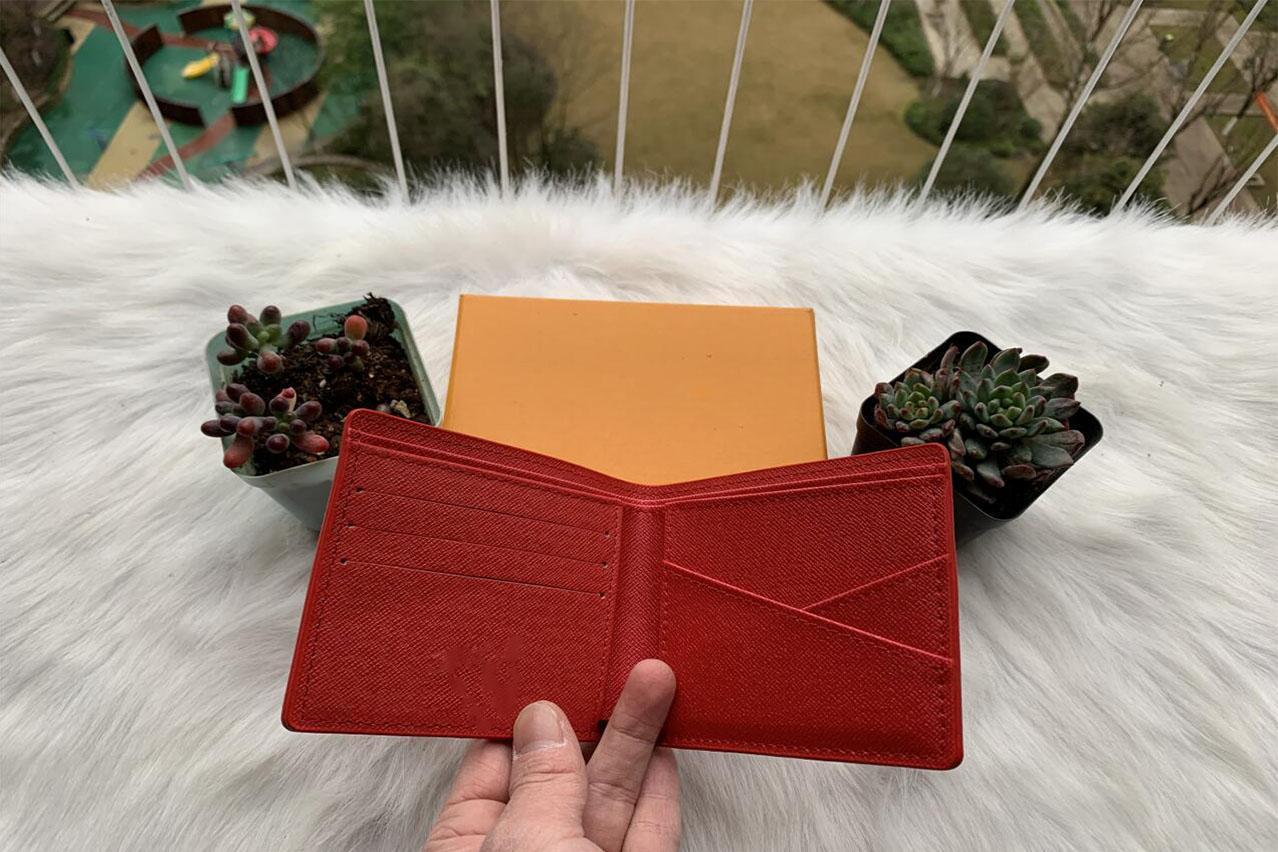 Bolsa nova bolsa de estilo bolsa a mais alta qualidade dobrável moeda MS gravado classic clássico carteira MS Carteiras cinto moda com caixa quente BTKXA