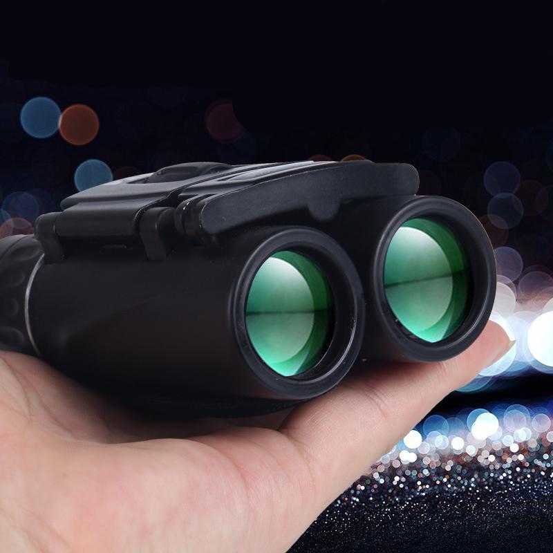 40x22 All-оптические очки с диоптриями Портативный высокой мощности Hd телескоп на открытом воздухе Путешествия Увеличить Бинокль