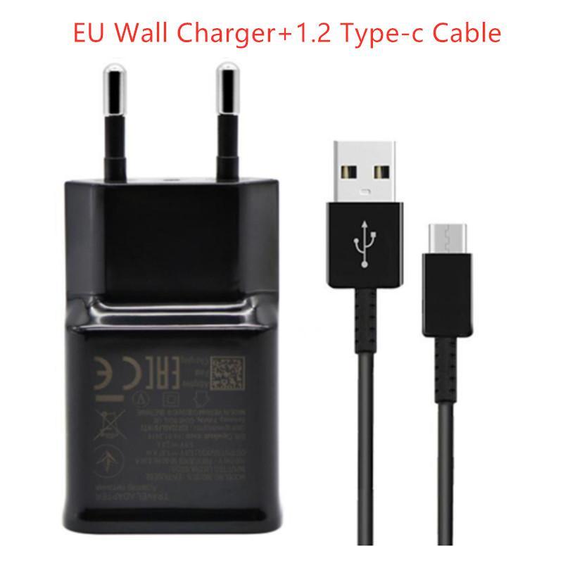 USB USB Зарядное устройство USB Быстрое зарядное устройство для домашнего адаптера Зарядное устройство EP-TA20JBE + EP-DG950CBE