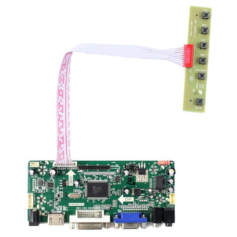 PPYY NUEVO - Tablero de controlador de audio LCD Ajuste a Arcade 1UP Piezas de bricolaje 17 pulgadas M170ETN01.1 WYD170SKD01 LCD Monitor