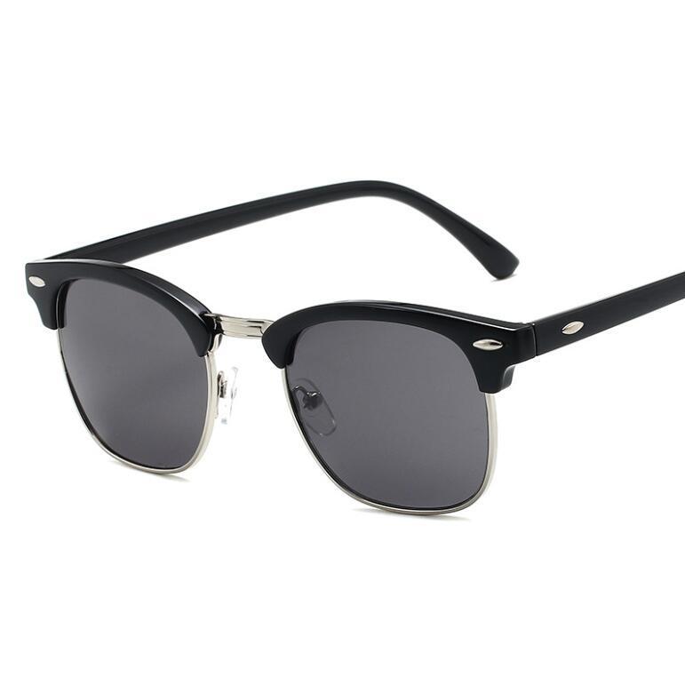 Männer High-Grade 2019 Neue Qualität Designer Luxus Womens Sonnenbrille Frauen Sonnenbrille Runde Sonnenbrille Gafas de Sol Mujer Lunette K0125