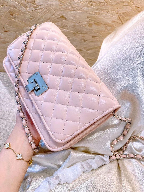 C Bolsos pequeños Bolsa Lingge Super oblicuo Tamaño de los dulces de un hombro: Color Great! Crossbody 22cm Luxurys Designers Shwmf K es Xefus