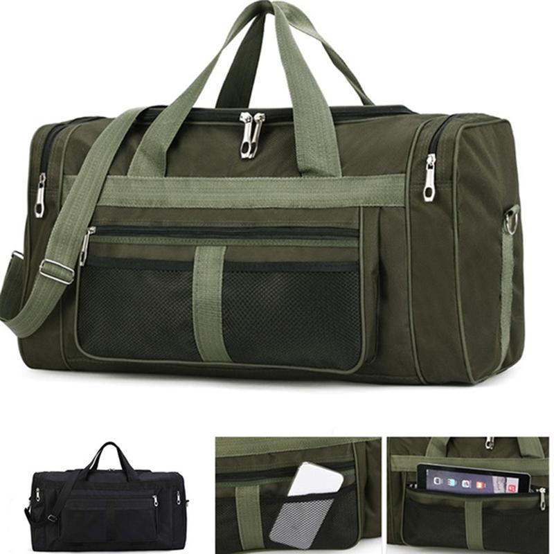 Capacidade dos homens grandes ombro À Prova D 'Água Multifuncional Viagem Bags Saco de Negócios Bagagem Outdoor Bandbag Presente HNLRD