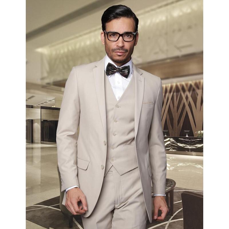 Yeni Yeni Erkekler Damat smokin İş Örgün Suit için Yakışıklı 3 adet Erkek Suit İki Düğmeler Düğün (ceket + pantolon + yelek) Hy863