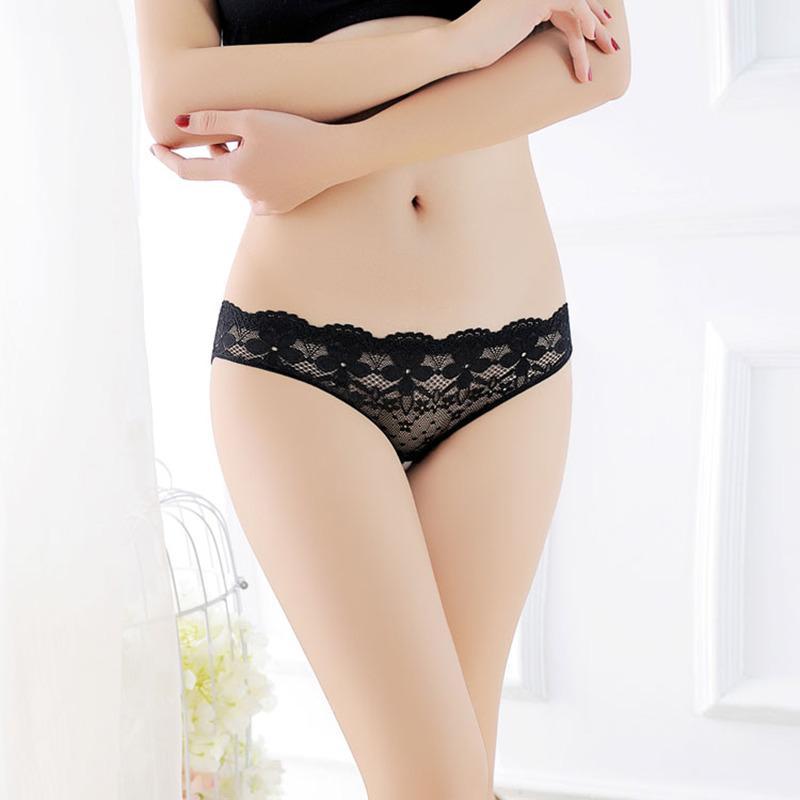 Открытая промежность упругих высококачественных сексуальных трусиков на прорезинении кружевное белье женщин прозрачные женские трусы