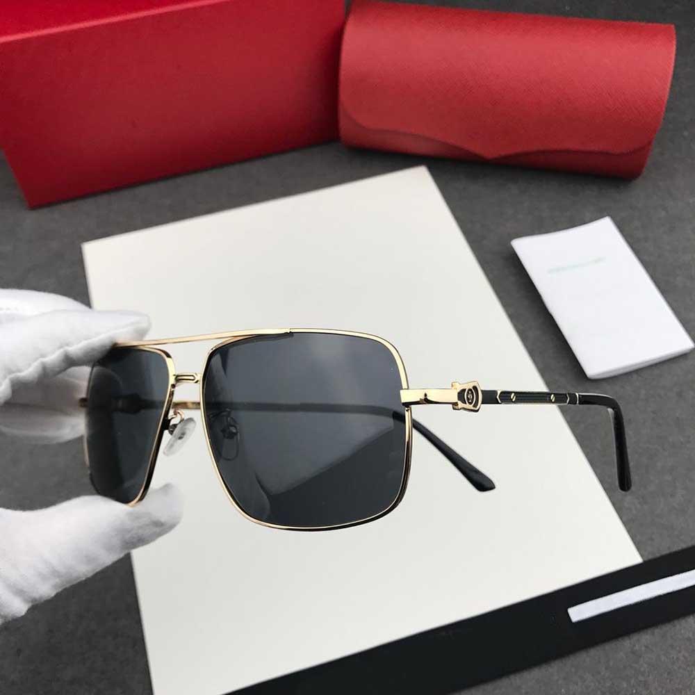 Sıcak Tasarımcı Güneş Gözlüğü Lüks Moda Vakum Kaplama Butik Polarize Erkekler Için Polarize Adumbral Marka Güneş Gözlüğü Moda Lüks Güneş Gözlüğü