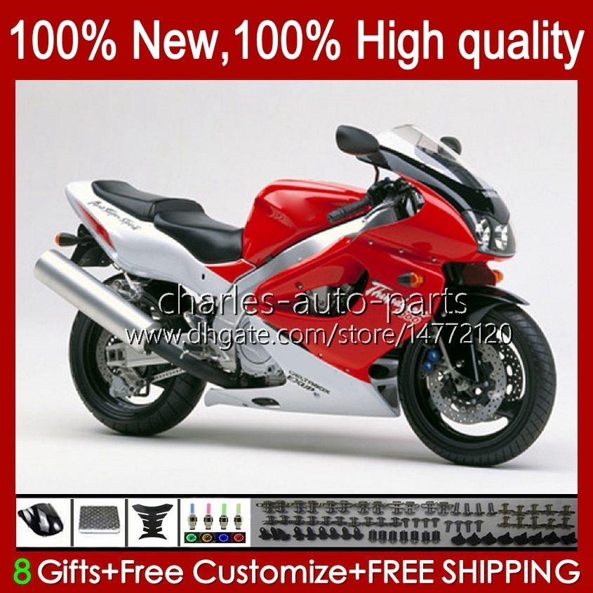 Corpo para Yamaha Yzf1000r Thunderace 96 97 98 99 00 01 07 96HC.0 YZF-1000R YZF 1000R 2002 2003 2004 2007 Fairings Kit Factory Red