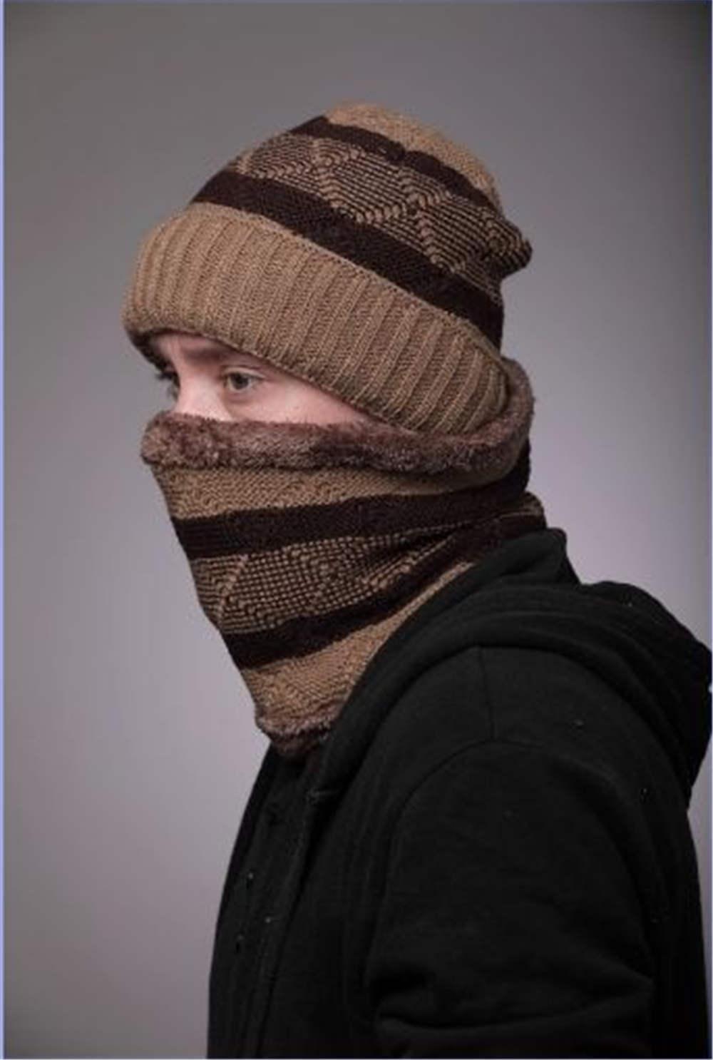 봄 겨울 비니 모자 여성 망 니트 모자 여자를위한 스카프 세트와 따뜻한 겨울 모자 남성 솔리드 힙합 캐주얼 커프스 비아 따뜻한