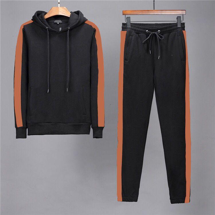 2019 Yeni erkek Tasarımcı Futbol Eşofman Seti Ceket Takım Elbise Pantolon Kazak Ter Suits Mont Ceketler Casual Tişörtü Eğitim Takım Elbise