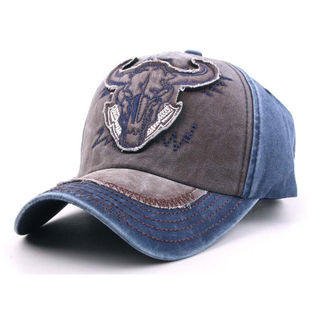 Neue Mode Bulls Strap Back Cap Männer Frauen Hüte Stickerei Designer Sport Baseballkappen Outdoor Chapeu