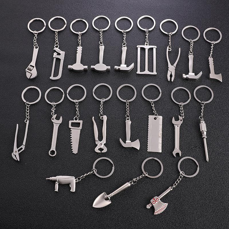 Strumento creativo chiave regolabile chiave portachiavi uomo auto portachiavi in metallo portachiavi pratici regali fai da te accessori moda spedizione gratuita