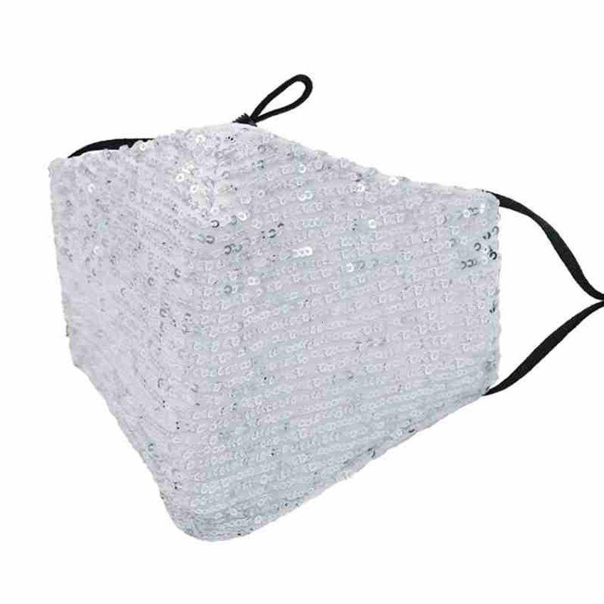 Factory пылезащитный модный моющийся блестящий блесток ветрозащитный защитный многоразовый лицо упругих растоп хлопчатобумажная маска рот Cyz 4ammxl