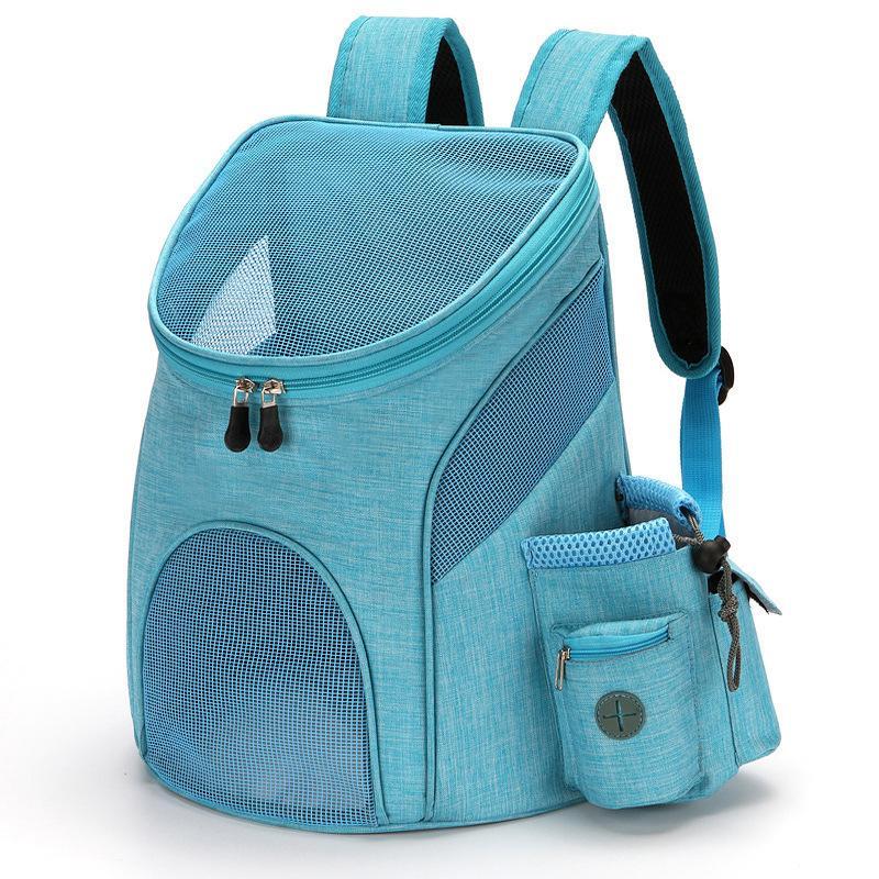 تنفس مساحة كبيرة الكلب الكلب حقيبة عالية الجودة نايلون pet القط الكلب الناقل حقيبة قابل للتعديل حزام الكتف الحيوانات الأليفة السفر حقيبة الظهر LJ201201