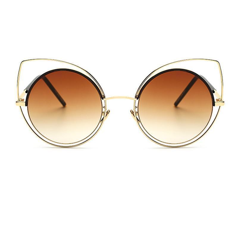 2019 per gli uomini di marca occhiali occhiali gatto grande grande moda designer sole donne donne cornice femmina moda sunglasses uv400 y198 hvmun