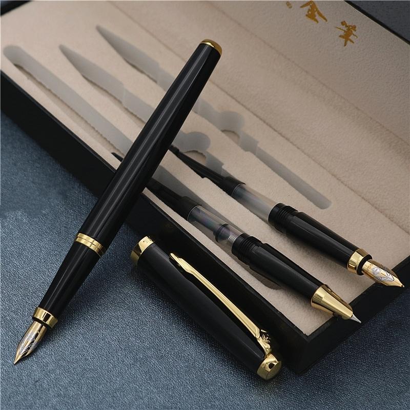 3 في 1 نافورة القلم مع هدية مربع هدية عيد القلم نوعية جيدة الفاخرة إيروريتا نافورة الأقلام شحن مجاني T200115