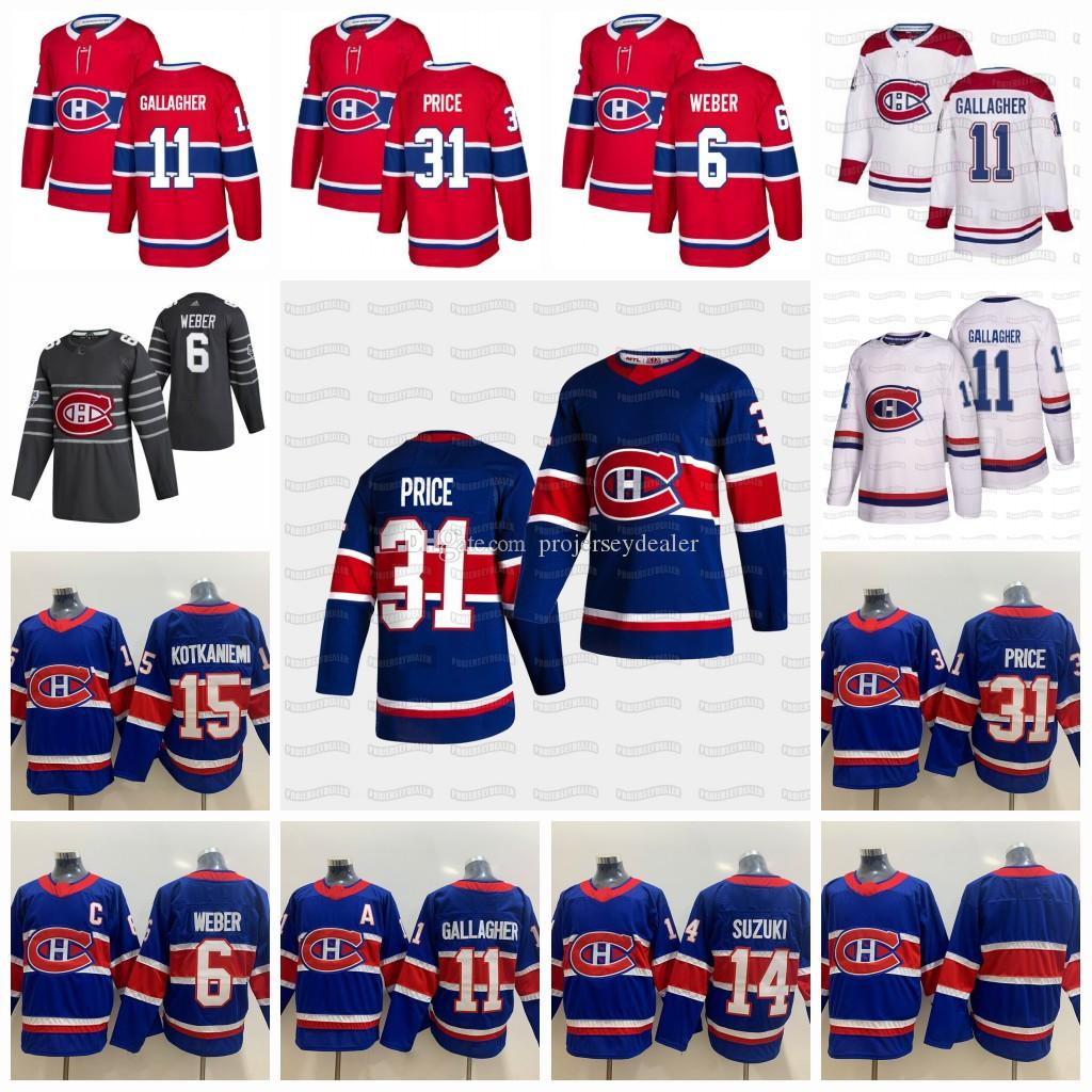 Carey Fiyat Montreal Canadiens 2021 Retro Retro Jersey Cole Caufield Eric Staal Jesperi Kotkaniemi Allen Brendan Gallagher Gustafsson Roy Drouin Suzuki