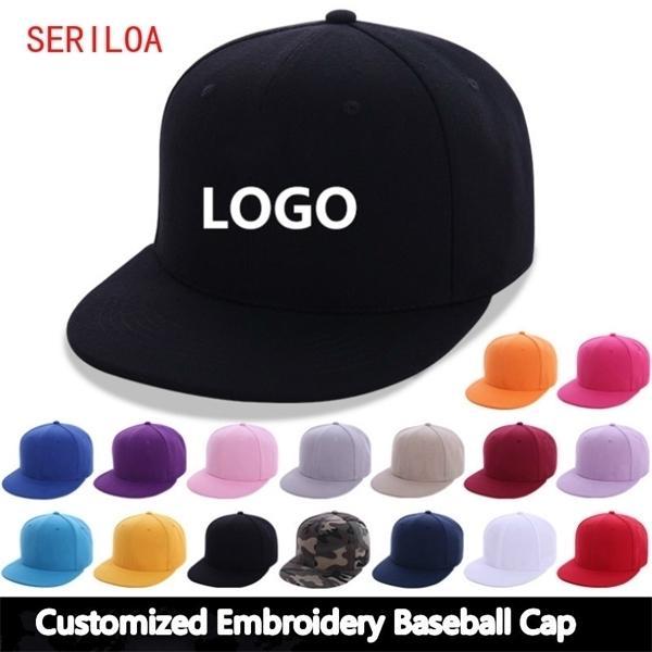 10pcs / lote Casquillo de béisbol personalizado para las mujeres Hombre con sombrero personalizado gorras de gorras / nombre / imagen Y1220
