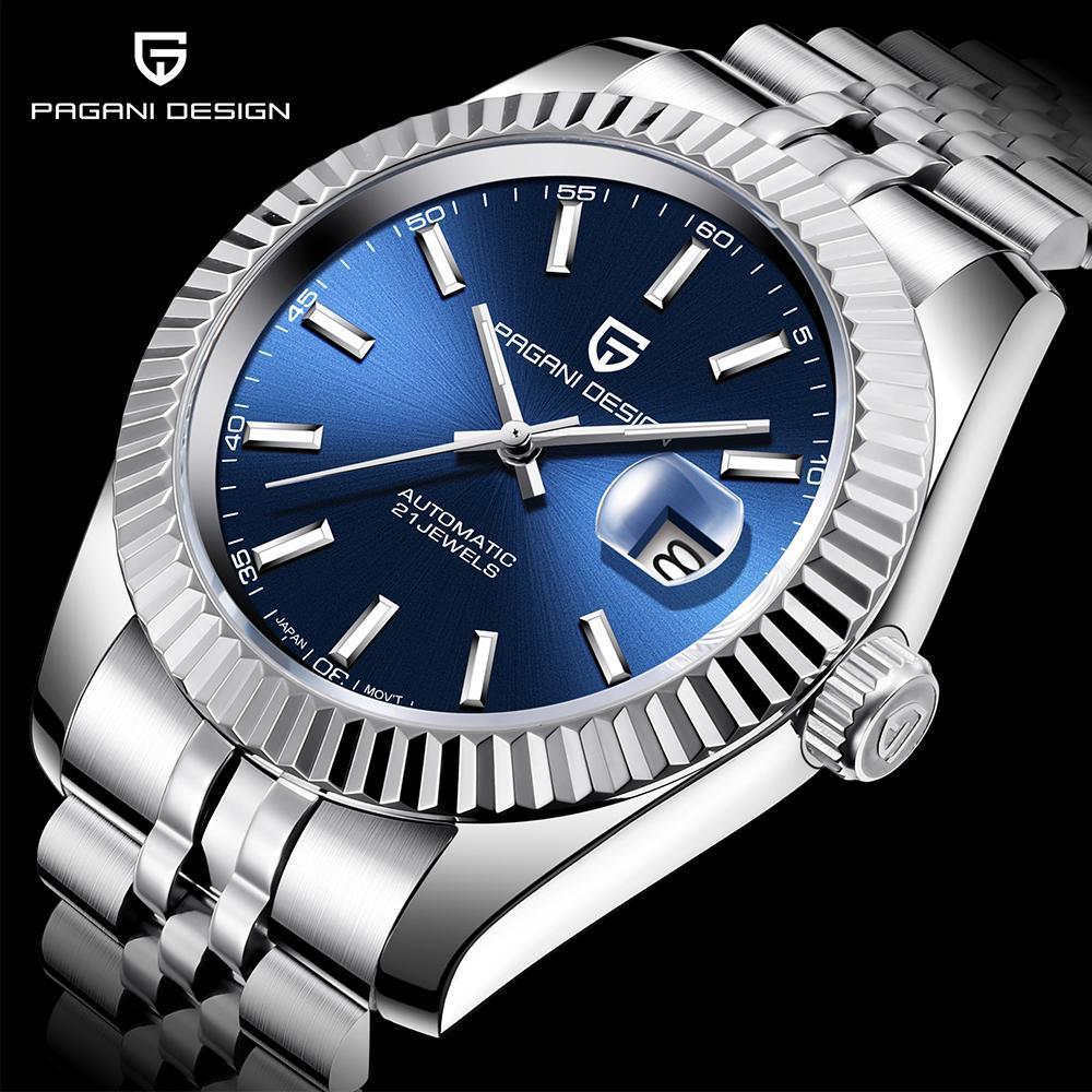 Pagani Design Men Mecanical Watch Top Marca de lujo Reloj automático de lujo Deporte Acero inoxidable Resistente al agua Hombres Relogio Masculino Q1118