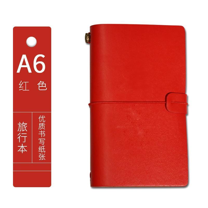 A6 imitazione taccuino in pelle personalizzata ufficio business cartoleria addensata Business notepad Blocco note