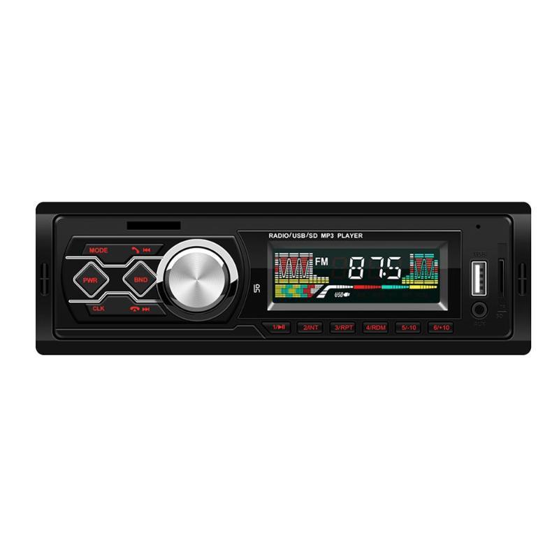 Новый универсальный 12V Bluetooth MP3 Player Player Card USB Flash Drive для конвертации управления грузовиком автомобиля MP3
