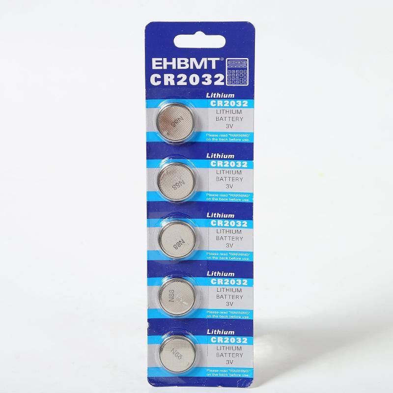 5 قطع 1 الكثير CR2032 زر البطارية بطارية ليثيوم حماية البيئة الكمبيوتر اللوحة الأم مفتاح السيارة