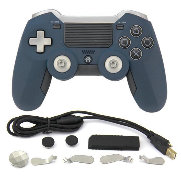 Nihai 2.4G Kablosuz Gamepad Denetleyicisi PS4 Oyun Denetleyicisi Titreşim Joystick Gamepad için PC oyunu