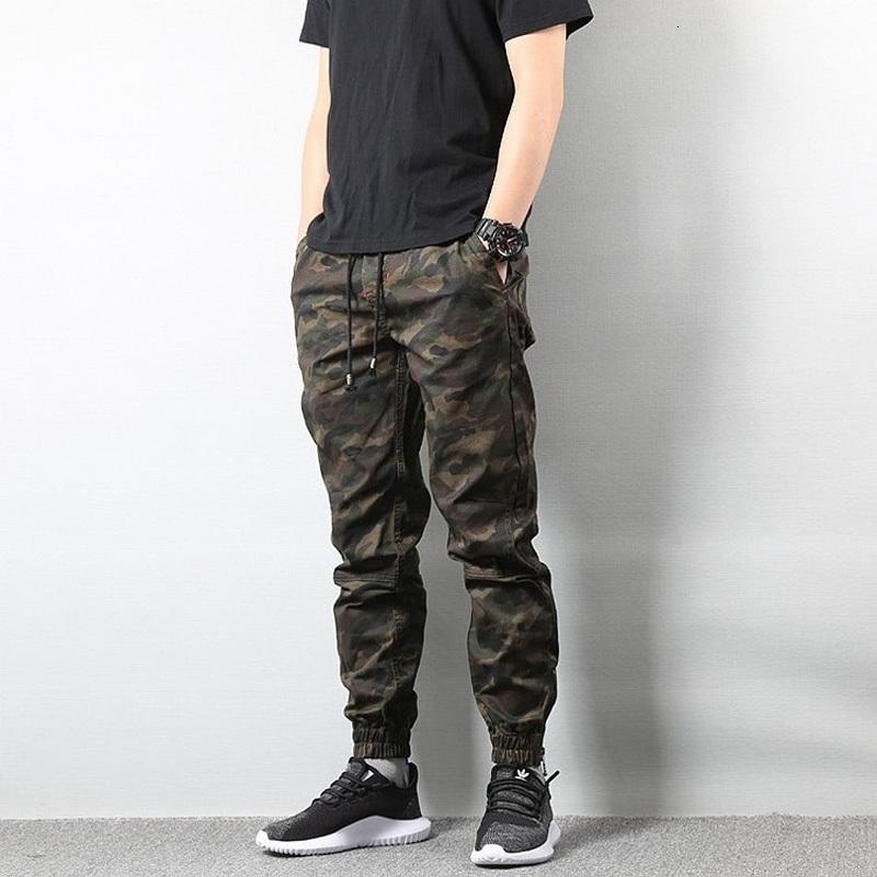 American Style Style Fashion Jogger Camouflage Cargo uomo militare esercito Broek Homme Hip Hop Jeans